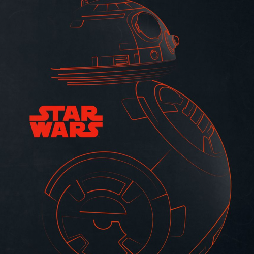 'BB-8' Poster _ art print by Star Wars _ Displate